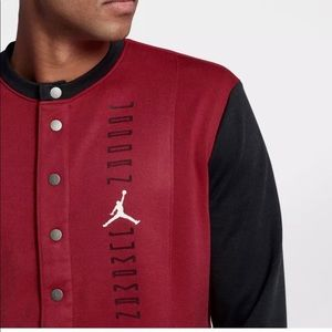 Nike Air Jordan Retro XI 11 Red Black Jumpman Basketball Jacket AH1549 687 Men/'s